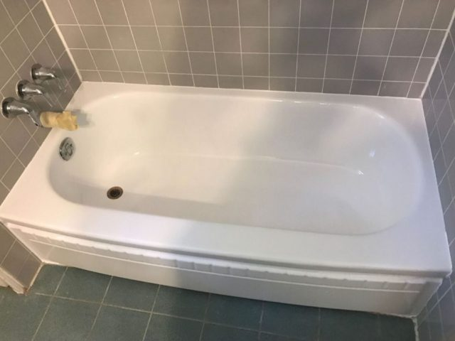 Bathtub Refinishing After